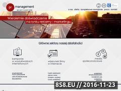 Miniaturka domeny www.prmanagement.pl