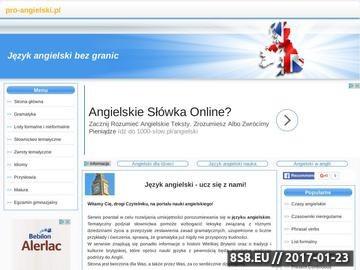 Zrzut strony Język angielski bez granic - nauka angielskiego