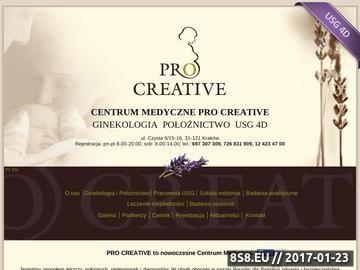 Zrzut strony Ginekolog Kraków