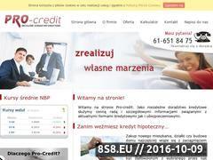 Miniaturka domeny pro-credit.pl
