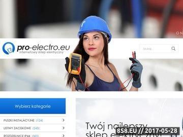 Zrzut strony Sprzęt elektryczny, rozdzielnice, osprzęt odgromowy i elewacyjny