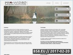 Miniaturka domeny www.pro-wideo.pl