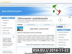 Miniaturka domeny www.pro-wloski.pl