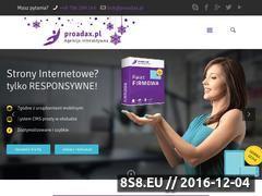 Miniaturka domeny proadax.pl