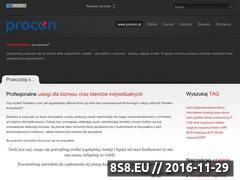 Miniaturka domeny www.procon.pl