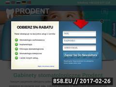 Miniaturka domeny www.prodent.gda.pl