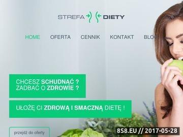 Zrzut strony Porady dietetyczne