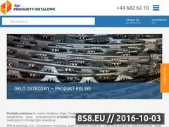 Miniaturka domeny www.produkty-metalowe.pl