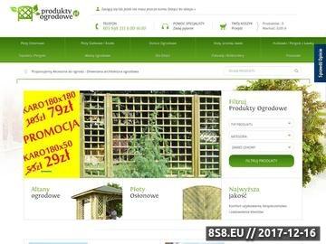 Zrzut strony Drewniane akcesoria do ogrodu