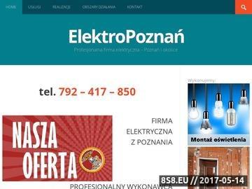 Zrzut strony Montaż elektroniczny SMD, THT, SMT