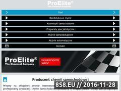 Miniaturka domeny www.proelite.pl
