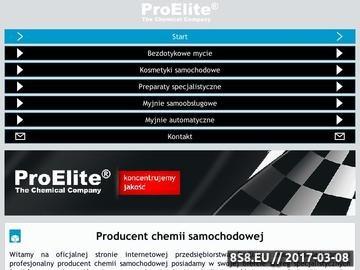 Zrzut strony Chemia samochodowa ProElite