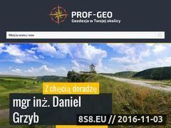 Miniaturka domeny prof-geo.com.pl
