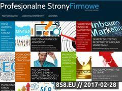 Miniaturka domeny profesjonalnestronyfirmowe.pl