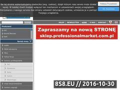 Miniaturka domeny professionalmarket.com.pl