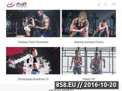 Miniaturka domeny www.profi-fitness.com.pl