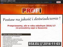 Miniaturka domeny profi-jezyki.pl