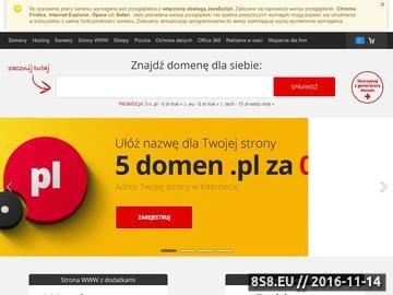 Zrzut strony Kursy językowe Szczecin Profi