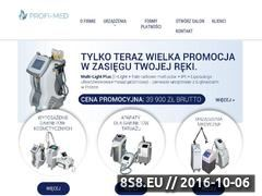 Miniaturka domeny profi-med.eu