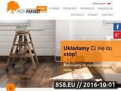 Miniaturka domeny www.profi-parkiet.com.pl