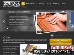 Miniaturka domeny www.profidek.pl