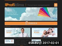 Miniaturka domeny www.profiklima.pl