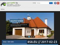 Miniaturka domeny www.profil-b.pl