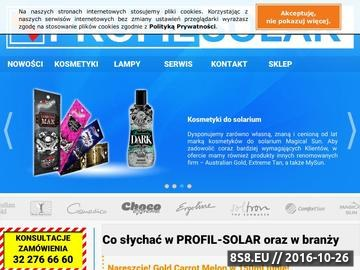 Zrzut strony Urządzenia, lampy i kosmetyki do solarium