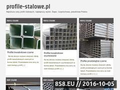 Miniaturka domeny profile-stalowe.pl