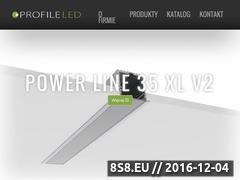 Miniaturka Profile LED - oprawy LED dla firmy i dla domu (www.profileled.pl)