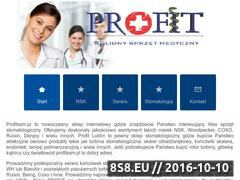 Miniaturka domeny www.profitssm.pl
