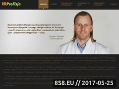 Miniaturka domeny www.profizjo.pl