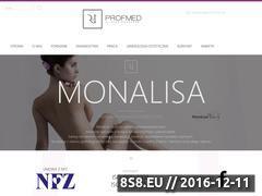 Miniaturka domeny www.profmed.com.pl