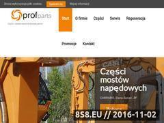 Miniaturka domeny www.profparts.pl