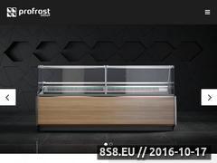 Miniaturka domeny www.profrost.pl