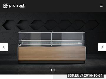 Zrzut strony Szafy chłodnicze - wyposażenie sklepów