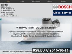 Miniaturka domeny www.proftec.pl