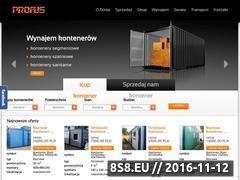 Miniaturka domeny profus-kontenery.pl
