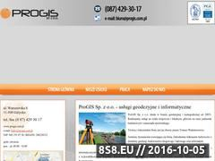 Miniaturka domeny www.progis.com.pl