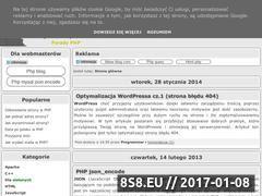 Miniaturka domeny programistyczny.blogspot.com