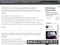 Miniaturka domeny programowo.blogspot.com