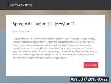 Zrzut strony ProgramySystemy.pl - Kasprsky, Eset, AVG, Corel, Adobe, ABBYY, Acronis i inne
