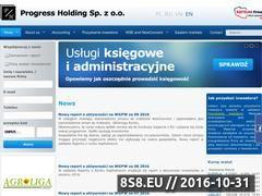 Miniaturka domeny www.progressholding.pl
