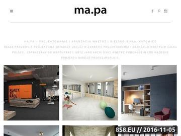 Zrzut strony Projektowanie wnętrz w Bielsku i Katowicach