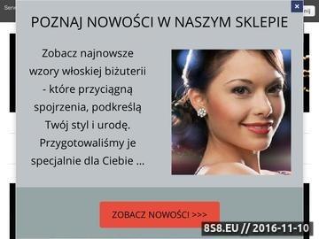 Zrzut strony Projektodajnia - rękodzieła ze srebra i kamieni szlachetnych