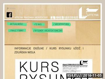 Zrzut strony Architekt wnętrz w Łodzi