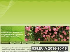 Miniaturka domeny www.projektowanie-ogrodow.cba.pl