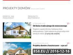 Miniaturka domeny www.projekty-domow-pasja.pl