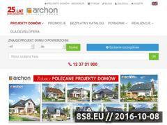 Miniaturka domeny projekty-domow.com.pl
