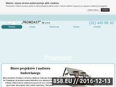 Miniaturka domeny www.projekty-promiast.pl